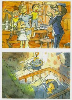 Fifi Brindacier vue par Hayao Miyazaki