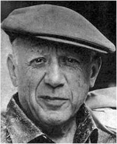 Pablo Picasso born in Malaga 1881 - Bruce Willis looks an awful lot like Picasso.....hmmmm