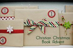 Christian Christmas Book Advent. This link has a great list of books for each day in December.