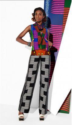 All Things Ankara: Wax Print & Lookbook: Vlisco ~African fashion, Ankara, kitenge, African women dresses, African prints, African men's fashion, Nigerian style, Ghanaian fashion ~DKK