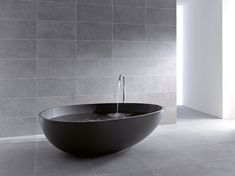 """Nothing could be more appropriate than the quote """"Less is more"""" to describe Vov #bathtub by #MastellaDesign. #designbath #bathroom #interiordesign #homedecor #miesvanderrohe #archilovers"""