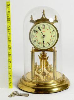 Vintage Kundo Kieninger Obergfell West Germany Cold War Era Dome Mantle Clock #vintage #clock