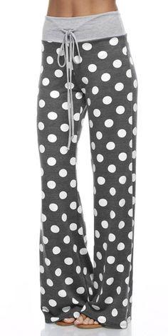 Polka Dot Lounge Pants