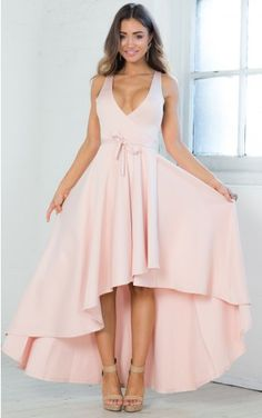 Unravel Dress in Blush