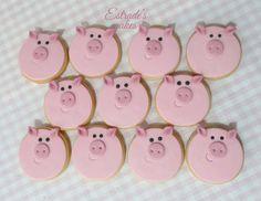 Estrade's cakes: galletas infantiles de cerdos