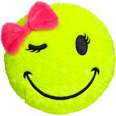 Smiley Face Pillow pillows - Polyvore