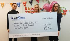 We are happy to know our £2,500 donation to the Rainbow Trust Children Charity could provide 104 hours of support to a family in need. We will be sure to continue our support!