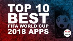 The four-year wait is almost over and the new FIFA World Cup is now nearly here, with 32 national teams being set to compete for the most prestigious World Cup 2018, Fifa World Cup, Best Android, Android Apps, Great Apps, June, Google, Top, Crop Tee