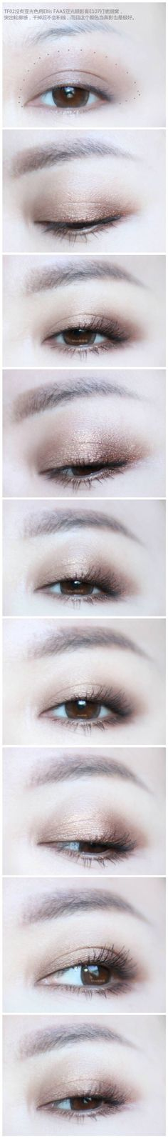 Natural make up step