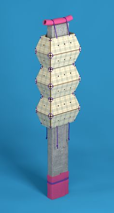 Fashion For Concrete by Fabrice Le Nezet, via Behance