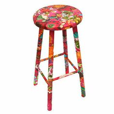Not on the High Street Stool | Best Kitchen Stools | Red Online