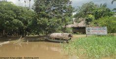 Descanse en el Amazon King Lodge de Iquitos En el corazón de la Amazonía de Iquitos, el Amazon King Lodge es uno de los lugares ideales para relajarse y poder conectarse con la naturaleza, observar la fauna e interactuar con los indígenas de la zona.