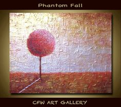 Tree Art Painting Acrylic painting Original abstract by CFWART