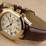 Dream Watches, Bracelet Watch, Brown, Bracelets, Gold, Men, Accessories, Ideas, Watch