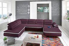 megapol free plus wohnlandschaft ecksofa sofa 2-sitzer, Wohnzimmer