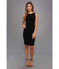 No need to pinch yourself. This chic Nicole Miller™ dress really .  as beautiful as it seems.. Slee...