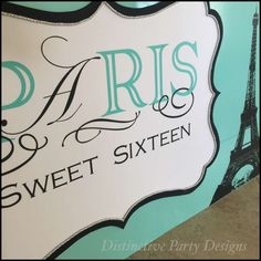 Paris  Birthday Party Ideas | Photo 6 of 20