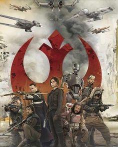 'Star Wars: Rogue One' Heroes