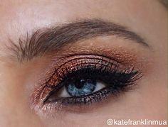 Bronzed Eye Look | Kate Franklin Makeup