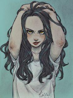 #JessicaJones #Marvel #Angry. on Behance