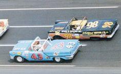 Nascar Race Cars, Old Race Cars, Sport Cars, Chrysler Valiant, Convertible, Mopar Or No Car, Vintage Race Car, Courses, Richard Petty