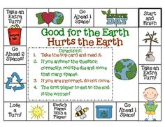 $3.50 - Earth Day Unit for K-1.  18 pages.