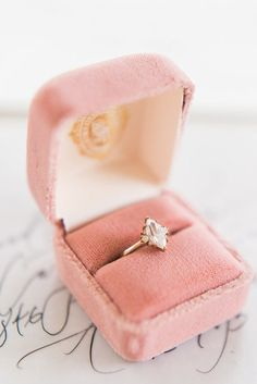 vintage style marquise diamond engagement ring | Wedding & Party Ideas | 100 Layer Cake