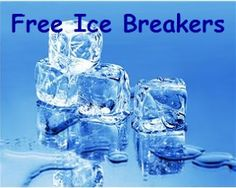 Fabulous Free Ice Breaker Ideas for Class by One Less Headache. A professionally done PDF document...very impressive.