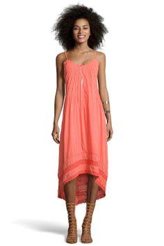 Boutique Lucinda Dip Back Crochet Trim Midi Dress at boohoo.com