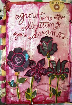 Planting the garden that is your life ~ ~  Grow in the direction of your dreams...
