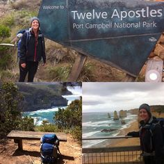 Woohoo! Just finished solo hiking the 100km Great Ocean Walk which was 3.5 days of stunning views and beautiful hiking along coast and through the bush of the Great Otway & Port Campbell National parks. Great finish at 12 Apostles #lovinglife #greatoceanroad #greatoceanwalk #twelveapostles #hiking #trekking #ospreypacks #backpacking #greatotwaynationalpark #surfcoast by classickiwicourtz