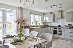 Open Kitchen, Kitchen Dining, Bovis Homes, New Homes For Sale, Apartment Kitchen, Apartments For Sale, Dining Area, Magnolia, Building A House