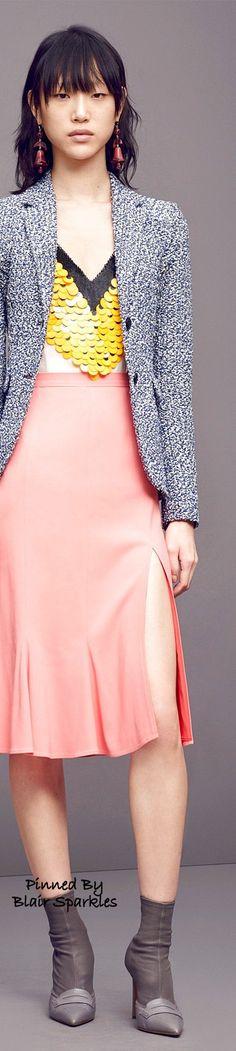 Pre Fall 2016 Altuzarra ~ ♕♚εїз | BLAIR SPARKLES women fashion outfit clothing style apparel @roressclothes closet ideas