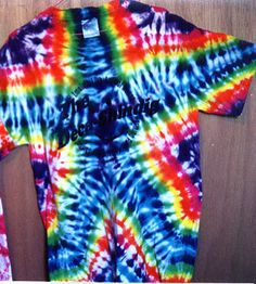 Star tie dye pattern. Link to many others.