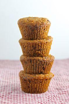 Carrot Cake Muffins! #Vegan #Healthy #Easy