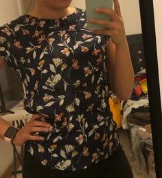 Camisa irregular con estampado floral | SHEIN USA High Low, Floral Prints, Crop Tops, Women, Fashion, Shirts, Blouses, Moda, Floral Patterns