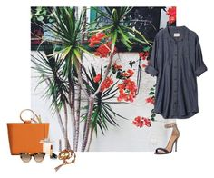 """""""Untitled #660"""" by fufuun ❤ liked on Polyvore featuring GET LOST, Halston Heritage, MANGO, Chloé, Gucci, Vintage and Valentino"""