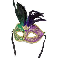 PGG Lamé Feathered Mask Image