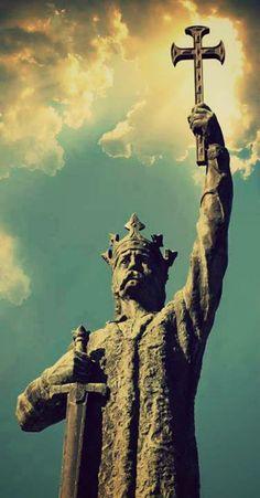 Ștefan cel Mare și Sfânt Republica Moldova, Byzantine, Christian Quotes, Statue Of Liberty, Motivational, Angel, History, Music, Travel