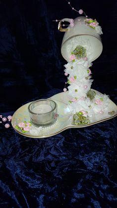 Tea Light holder. Made by Maria Hibbard