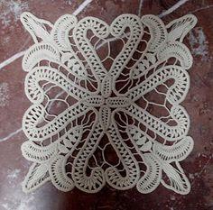 Petit Patch Smaranda: Lacet Roumain, crochet
