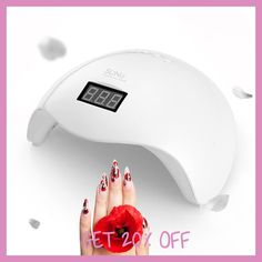 UVLED SUN UV Lamp 48W SUN5X LED Nail Dryer Manicure Lamps Double Light Auto Motion Drier For Curing Gel Polish Nail Art Tools