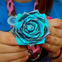 Ductape flower(: