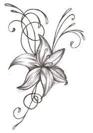 Resultado De Imagen Para Dibujos De Flores A Lapiz Todo Lily