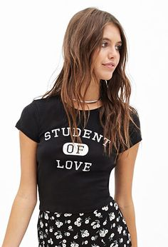 Student Of Love Tee   FOREVER21 - 2052762881