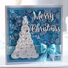 Card made using the Sara Signature Contemporary Christmas collection from…