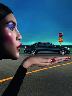 Die Kampagne Frühjahr/Sommer 2014 für die Mercedes Benz Fashion Week Berlin ist da! Das Motiv: das chinesische Model Sui He, die der neuen