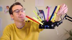 #magnetips, #pen with #magnet Pulpen warna-warni yang sekaligus bisa dipakai sebagai pajangan kulkas. Haha!