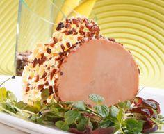 #FoieGras de canard aux éclats de fève de #cacao, tuile #croustillante. #Recette et conseils de nos #chefs sur www.feyel.com