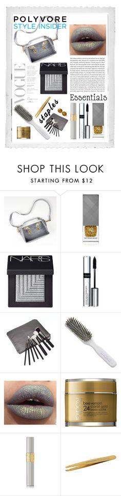 V.2. by szkatulkaami on Polyvore featuring uroda, NARS Cosmetics, Yves Saint Laurent, By Terry, Tweezerman, Rodial, Burberry, Kent, Retrò and Oris